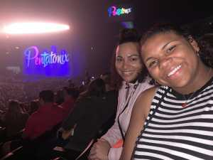 Corinna attended Pentatonix - the World Tour With Special Guest Rachel Platten on May 19th 2019 via VetTix