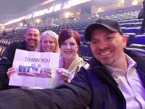 Harry attended Pentatonix - the World Tour With Special Guest Rachel Platten on May 19th 2019 via VetTix