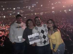 Juan attended Pentatonix - the World Tour With Special Guest Rachel Platten on May 19th 2019 via VetTix