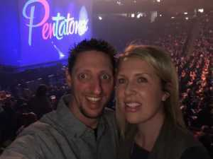 Daniel attended Pentatonix - the World Tour With Special Guest Rachel Platten on May 19th 2019 via VetTix