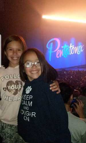 Chase attended Pentatonix - the World Tour With Special Guest Rachel Platten on May 19th 2019 via VetTix