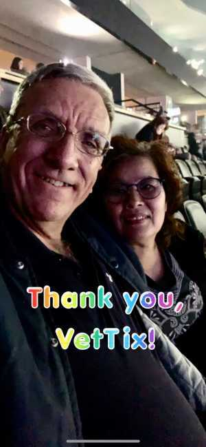 Randolph attended Pentatonix - the World Tour With Special Guest Rachel Platten on May 19th 2019 via VetTix