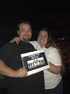 erik attended Pentatonix - the World Tour With Special Guest Rachel Platten on May 19th 2019 via VetTix
