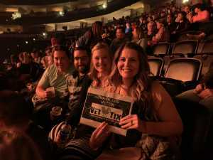 Julie  attended Pentatonix - the World Tour With Special Guest Rachel Platten on May 19th 2019 via VetTix