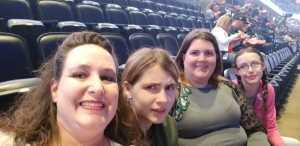 Mary attended Pentatonix - the World Tour With Special Guest Rachel Platten on May 19th 2019 via VetTix