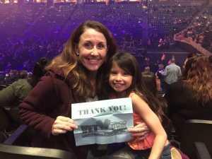 Karen attended Pentatonix - the World Tour With Special Guest Rachel Platten on May 19th 2019 via VetTix