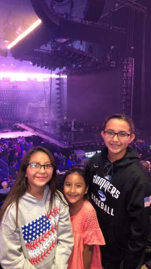 Peter attended Pentatonix - the World Tour With Special Guest Rachel Platten on May 19th 2019 via VetTix