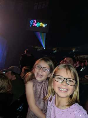 Cyrus attended Pentatonix - the World Tour With Special Guest Rachel Platten on May 19th 2019 via VetTix