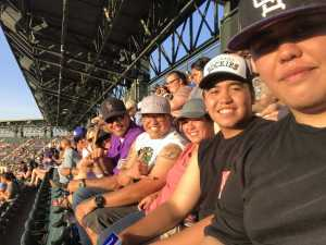 Julian  attended Colorado Rockies vs. Los Angeles Dodgers - MLB on Jun 27th 2019 via VetTix