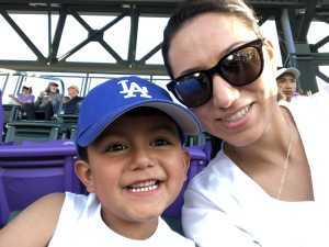 Anthony attended Colorado Rockies vs. Los Angeles Dodgers - MLB on Jun 27th 2019 via VetTix