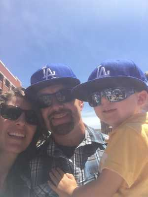robert attended Colorado Rockies vs. Los Angeles Dodgers - MLB on Jun 27th 2019 via VetTix