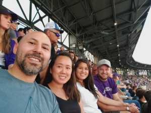 Manuel attended Colorado Rockies vs. Los Angeles Dodgers - MLB on Jun 27th 2019 via VetTix