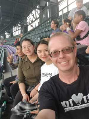 Timothy attended Colorado Rockies vs. Los Angeles Dodgers - MLB on Jun 27th 2019 via VetTix