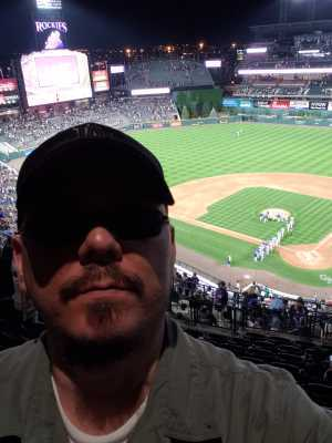 David attended Colorado Rockies vs. Los Angeles Dodgers - MLB on Jun 27th 2019 via VetTix