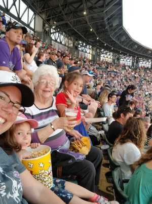 Denise attended Colorado Rockies vs. Los Angeles Dodgers - MLB on Jun 27th 2019 via VetTix