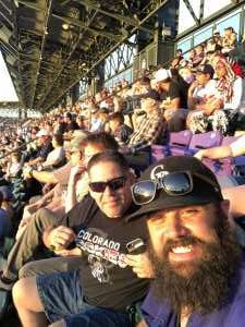 cameron attended Colorado Rockies vs. Los Angeles Dodgers - MLB on Jun 27th 2019 via VetTix