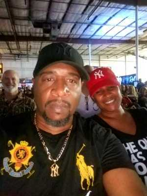 Andre attended Combat Night 107 - Jacksonville - Live Mixed Martial Arts on Jun 15th 2019 via VetTix