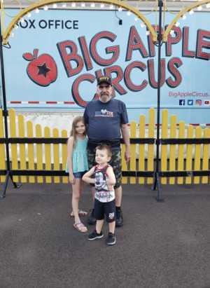Wayne attended Big Apple Circus - Philadelphia - Circus on May 31st 2019 via VetTix