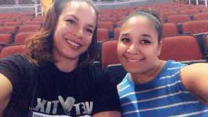 JILL attended The Millennium Tour With B2k on May 25th 2019 via VetTix
