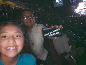 Jason attended The Millennium Tour With B2k on May 25th 2019 via VetTix