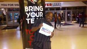 Rawn attended The Millennium Tour With B2k on May 25th 2019 via VetTix