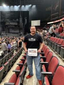 Jose attended The Millennium Tour With B2k on May 25th 2019 via VetTix