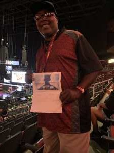 DECARLO attended The Millennium Tour With B2k on May 25th 2019 via VetTix