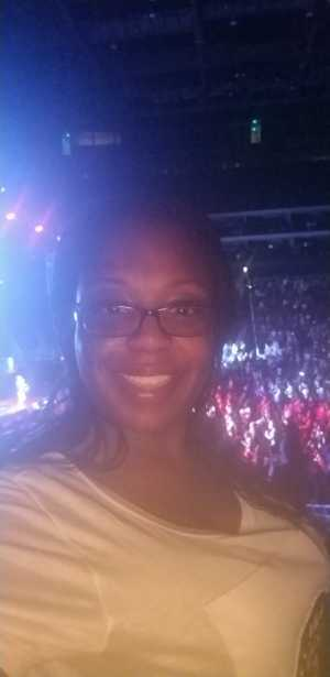 LaTisha attended The Millennium Tour With B2k on May 25th 2019 via VetTix