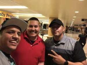 Manuel attended The Millennium Tour With B2k on May 25th 2019 via VetTix