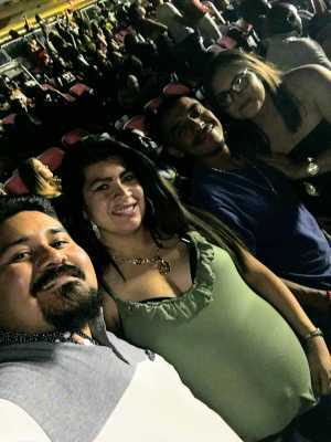 Richard attended The Millennium Tour With B2k on May 25th 2019 via VetTix