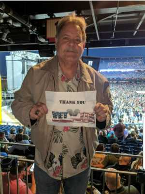 Gary attended The Who: Moving on - Pop on May 25th 2019 via VetTix