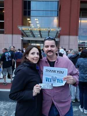 Michael attended The Who: Moving on - Pop on May 25th 2019 via VetTix