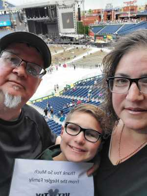 Randall attended The Who: Moving on - Pop on May 25th 2019 via VetTix