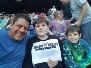 Walter attended The Who: Moving on - Pop on May 25th 2019 via VetTix