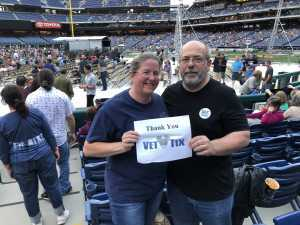 Sean Howarth attended The Who: Moving on - Pop on May 25th 2019 via VetTix