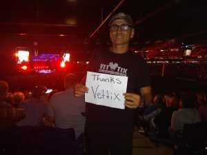 Lawrence attended The Who: Moving on - Pop on May 25th 2019 via VetTix