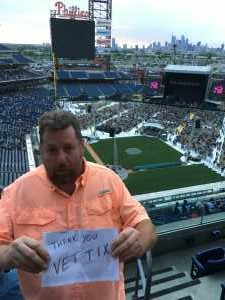 William attended The Who: Moving on - Pop on May 25th 2019 via VetTix