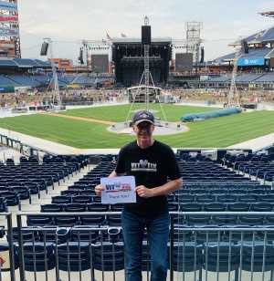 Scott attended The Who: Moving on - Pop on May 25th 2019 via VetTix