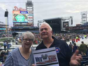 Lou attended The Who: Moving on - Pop on May 25th 2019 via VetTix