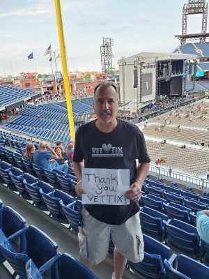 Rick attended The Who: Moving on - Pop on May 25th 2019 via VetTix