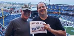christopher attended The Who: Moving on - Pop on May 25th 2019 via VetTix