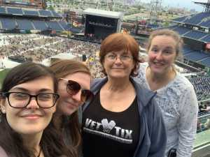 Shannon attended The Who: Moving on - Pop on May 25th 2019 via VetTix