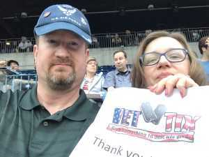 Bob attended The Who: Moving on - Pop on May 25th 2019 via VetTix