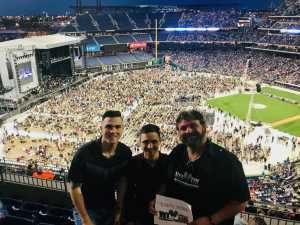 Daniel attended The Who: Moving on - Pop on May 25th 2019 via VetTix