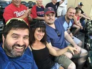 Jeff attended Minnesota Twins vs. Tampa Bay Rays - MLB on Jun 26th 2019 via VetTix