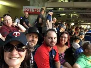 Kat attended Minnesota Twins vs. Tampa Bay Rays - MLB on Jun 26th 2019 via VetTix