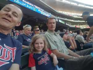 Patrick attended Minnesota Twins vs. Tampa Bay Rays - MLB on Jun 26th 2019 via VetTix