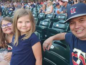 Richard attended Minnesota Twins vs. Tampa Bay Rays - MLB on Jun 26th 2019 via VetTix