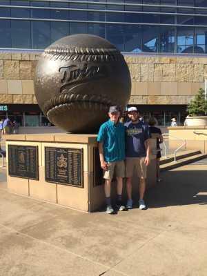 Tim attended Minnesota Twins vs. Tampa Bay Rays - MLB on Jun 26th 2019 via VetTix