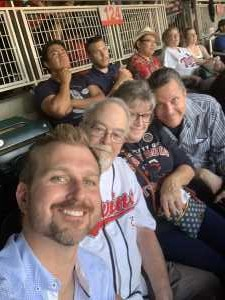 Laura attended Minnesota Twins vs. Tampa Bay Rays - MLB on Jun 26th 2019 via VetTix